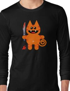 KAT 2 (Cute pet with a sharp knife!) Long Sleeve T-Shirt