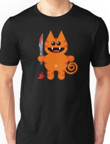 KAT 2 (Cute pet with a sharp knife!) Unisex T-Shirt