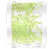 USGS Topo Map Oregon Horse Prairie 280244 1968 24000 Poster