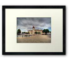 Once Upon A Building Framed Print
