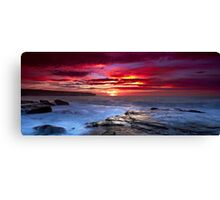 The Hues of Dawn Canvas Print