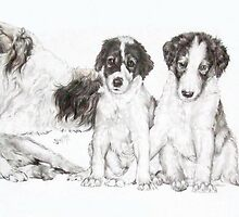 Growing Up Borzoi by BarbBarcikKeith