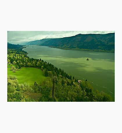 The Mighty Columbia River Photographic Print