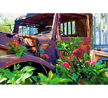 Rusty Steel Photographic Print