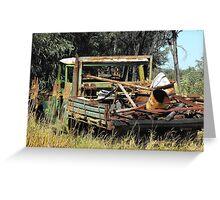 Work Horse a Pioneer in Briglow  Greeting Card