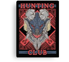 Hunting Club: Stygian Zinogre Canvas Print