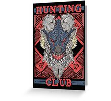 Hunting Club: Stygian Zinogre Greeting Card