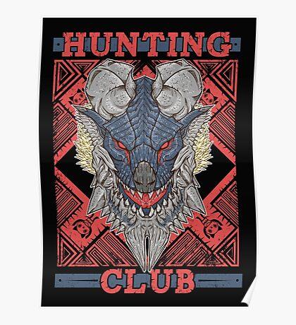 Hunting Club: Stygian Zinogre Poster