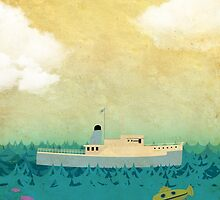 The Life Aquatic Film Poster by paulrice