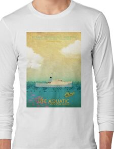 The Life Aquatic Film Poster Long Sleeve T-Shirt
