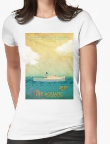 The Life Aquatic Film Poster Womens Fitted T-Shirt