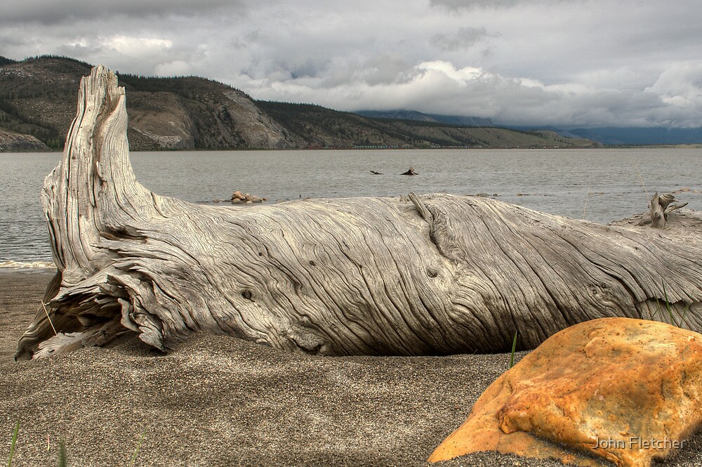 Between a Rock and a Hard Place  by John Fletcher
