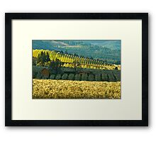 Hood River Valley Oregon Framed Print