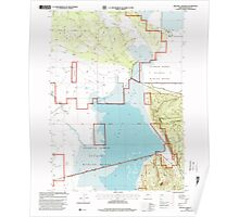 USGS Topo Map Oregon Military Crossing 280735 1988 24000 Poster