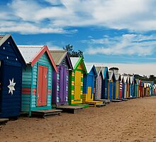 BRIGHTon Beach Boxes - Melbourne by Norman Repacholi