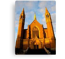 Sacred Heart Cathedral, Bendigo Canvas Print