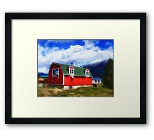 Mini Barn Framed Print