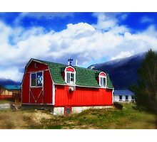 Mini Barn Photographic Print