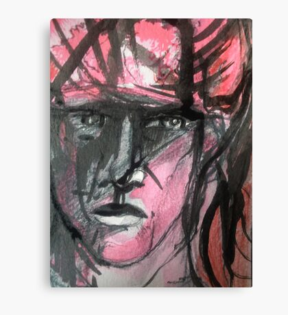 Red Soldier Canvas Print