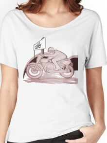 Cafe Racer w color Women's Relaxed Fit T-Shirt