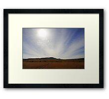 Golden Plains Framed Print
