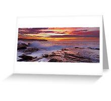 Long Bay Reflections Greeting Card
