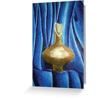 The broken pitcher Greeting Card