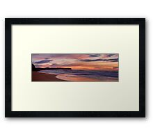 Good Morning Sunshine - Warriewood  Beach, Sydney Australia -  The HDR Experience Framed Print