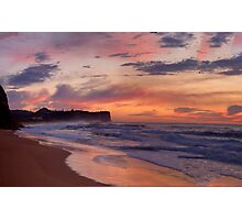 Just Another Day In Paradise - Warriewood Beach, Sydney - The HDR Experience Photographic Print