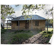Denmans Cottage, Hill End, NSW Poster