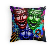HYPER COMEDY #9 Throw Pillow