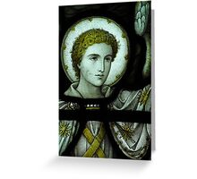 Angel Face Greeting Card