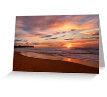Reflections of Morn - Warriewood Beach, Sydney - The HDR Experience Greeting Card