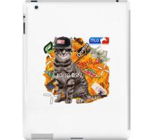 Montage Parody Cat (Explosion) iPad Case/Skin