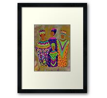We Women 4 Framed Print