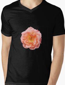 Peachy Rose Mens V-Neck T-Shirt