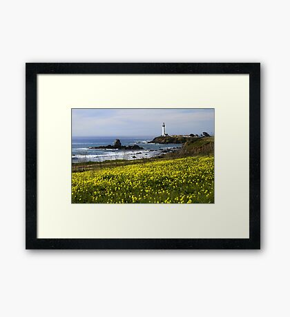 Pigeon Point Lighthouse Framed Print