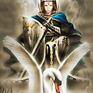 The Swan Knight by LivingHorus