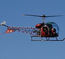 Hellicopter over my head by KeepsakesPhotography Michael Rowley