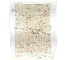 USGS Topo Map Oregon Mill City 283209 1929 125000 Poster