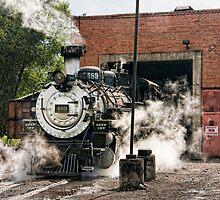 Chama Steam - I by Marilyn Cornwell