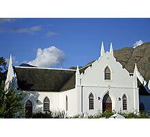 An old Stellenbosch church Photographic Print