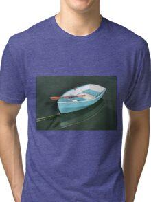 Blue Skiff Tri-blend T-Shirt