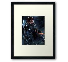 commander shepherd Framed Print