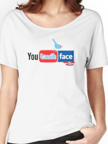 You Twit Face Women's Relaxed Fit T-Shirt