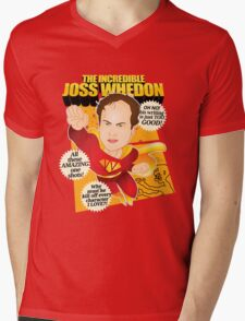 Joss Whedon Mens V-Neck T-Shirt