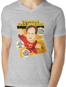 Joss Whedon Mens V-Neck T-Shirt