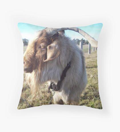 Goat Throw Pillow