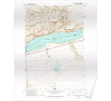 USGS Topo Map Washington Golgotha Butte 241352 1993 24000 Poster