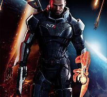 mass effect cover art by WordDungeon